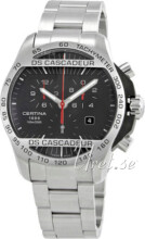 Certina DS Cascadeur Sort/St�l �42 mm