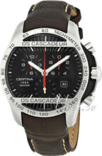 Certina DS Cascadeur Sort/L�r �42 mm