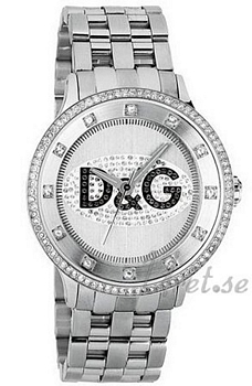 Dolce & Gabbana Prime Time Crystal Silver Dial