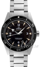 Omega Seamaster Diver 300m Master Co-Axial 41mm Sort/Stål