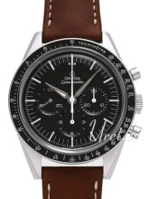 Omega Speedmaster Automatic Sort/Lær Ø39.70 mm
