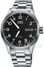 Oris Oris Aviation Sort/Stål