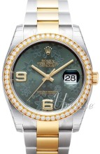 Rolex Datejust II Green Dial